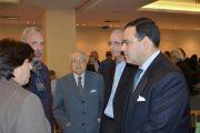 Από αριστερά:Η Δρ Καλλιόπη Ραδόγλου, Καθηγήτρια Δημοκριτείου Πανεπιστημίου Θράκης, ο κ. Νίκος Πάγκας, που εκπροσώπησε την ΦΕΑ στην συζήτηση, ο Πρόεδρος της Φιλοδασικής κ. Μιχαήλ Μελάς, ο κ. Χαράλαμπος Λιάπης, και ο κ. Γεώργιος Μελάς ,Αντιπρόεδρος του Δ.Σ. της Φιλοδασικής.