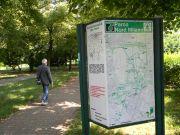 Ενημερωτική πινακίδα του Πάρκου