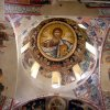 The vault depicting the Pantokrator and the preparation of the throne
