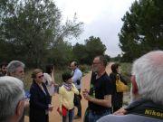 Ο Διευθυντής του Πάρκου Antonio Vizcaíno ξεναγεί τους συνέδρους