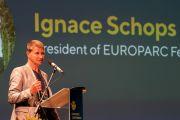 Ο Πρόεδρος του EUROPARC Ignace Schops